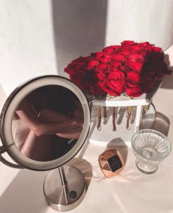 Premium Boxes with live roses